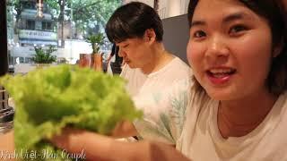 Ăn thịt nướng Hàn Quốc tại Nha Trang vì cha quá nhớ món Hàn Quốc