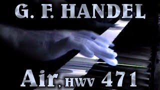 George Frideric HANDEL: Air in B-flat major, HWV 471