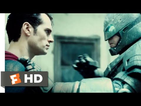 Batman v Superman: Dawn of Justice (2016) - Hero vs. Hero Scene (5/10) | Movieclips
