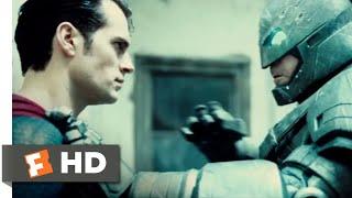 Batman v Superman: Dawn of Justice (2016) - Hero vs. Hero Scene (5/10) | Movieclips
