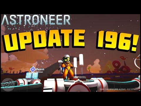 Astroneer UPDATE 196 , Work Light , FIxes and More!! Astroneer gameplay Z1 Gaming