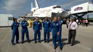 STS-133 Discovery - Comments from the Astronauts