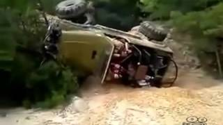 Внедорожные 4х4 аварии и катастрофы
