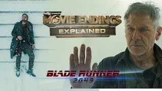 Blade Runner 2049 - Movie Endings Explained (2017) Ryan Gosling, Harrison Ford