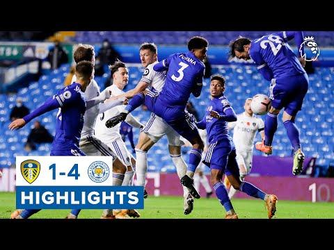 Highlights    Leeds United 1-4 Leicester City   2020/21 Premier League