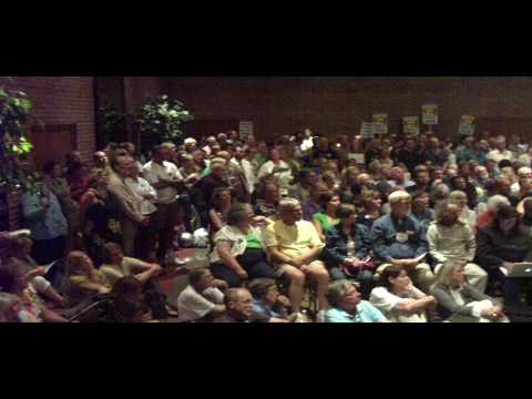 Congressman Jim McDermott addresses the 34th District Democrats