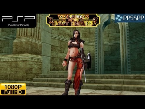 Warriors of the Lost Empire Gameplay  - PSP Gameplay HD 1080P (PPSSPP)