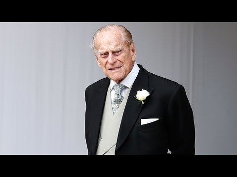97-year-old Prince Philip unhurt after crashing his Land Rover
