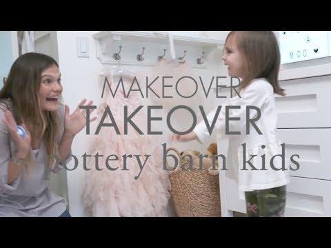 Pottery Barn Kids Makeover Takeover | Kid's Bedroom & Nursery