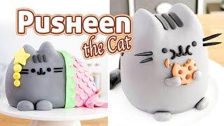 PUSHEEN THE CAT - 2 AMAZING CAKES 🍪Tan Dulce