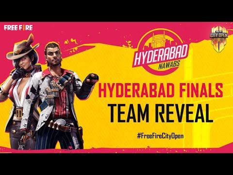 FFCO Hyderabad Finals Team Reveal   Free Fire City Open
