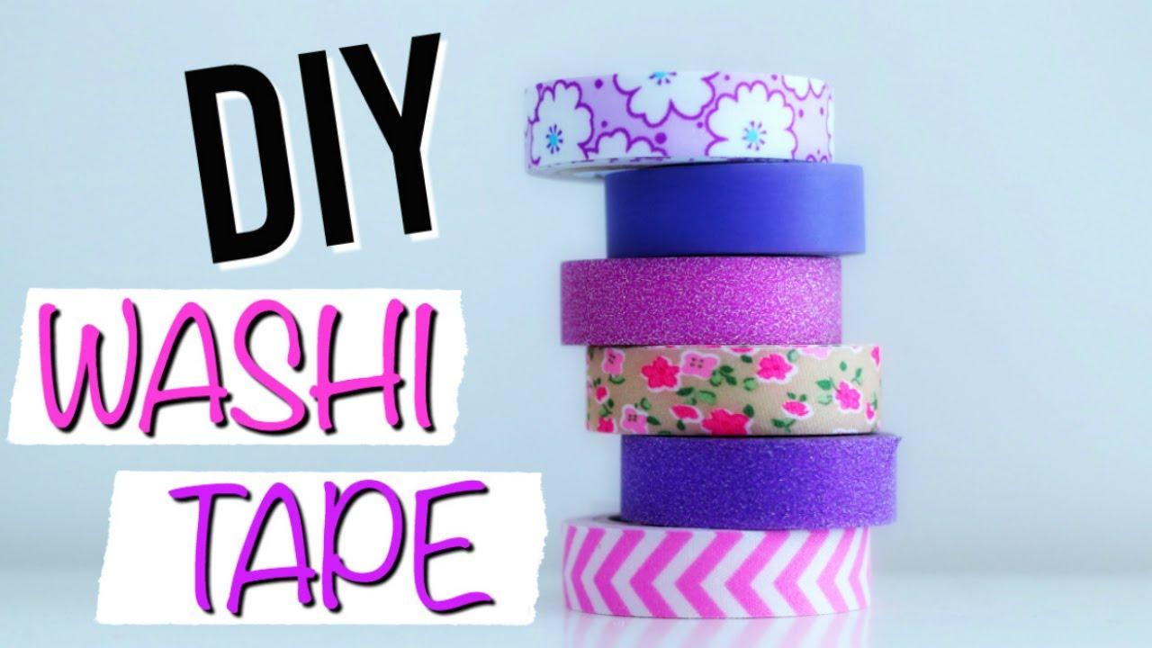 DIY Facile : Washi Tape / Masking Tape : Deco Chambre (français)