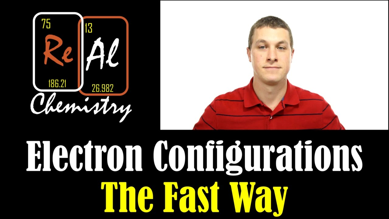 the periodic table trick for electron configurations real chemistry
