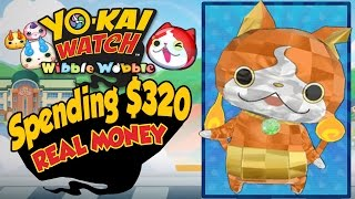 Yo-Kai Watch Wibble Wobble - Rewards For Spending $320 In REAL MONEY! [iOS Android Gameplay]