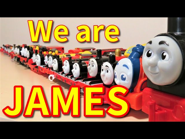 Thomas & Friends James toy big collection Trackmaster Wooden Railway RiChannel