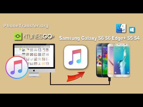 Musik von iTunes auf das Samsung Galaxy S6/S6 Edge+/S5/S4 übertragen