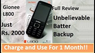 Gionee L800 with 1 month Batery Backup