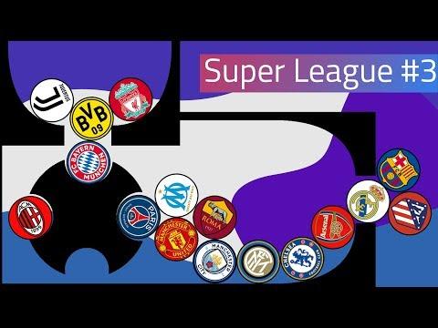 Clubballs Super League Marble Race #3 | UEFA 2019