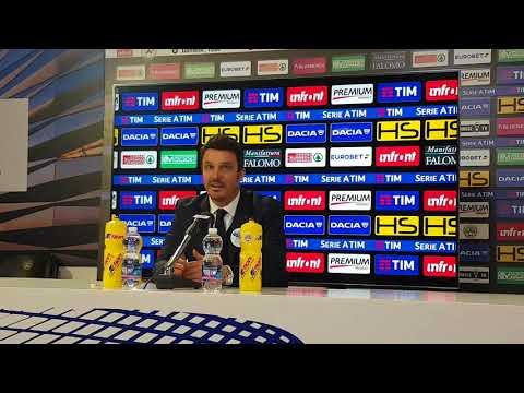 """Conferenza Oddo post Roma: """"Abbiamo fatto una grande partita, ma abbiamo regalato i due gol"""""""