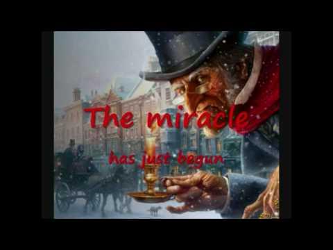 A CHRISTMAS CAROL - Andrea Bocelli God Bless Us Everyone testo e canzone.avi
