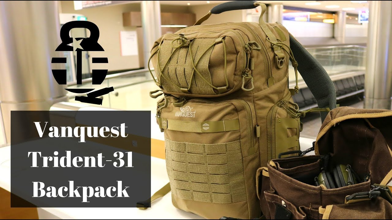 188c53df2bb Vanquest Trident-31 Backpack - YouTube