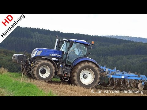 New Holland T7.270 Blue Power | Mandam cultivator | Luxembourg.