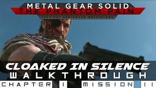 MGSV: The Phantom Pain Mission 11 Cloaked In Silence - Quiet Boss Fight Walkthrough