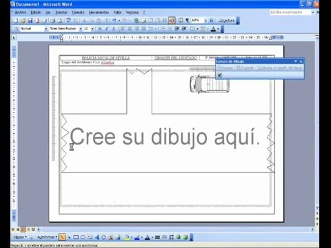 Ayuda croquizador para word youtube for Dibujar planos online