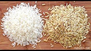 Вот почему Коричневый Рис Считается Полезным, а Белый — НЕТ