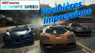 NFS Most Wanted Ultimate Speed Pack (Decouverte PS3) (NFS001)