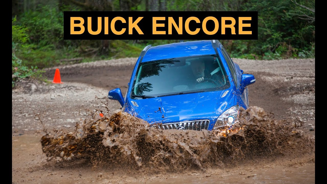 rear first cars look motor three trend quarter review encore buick
