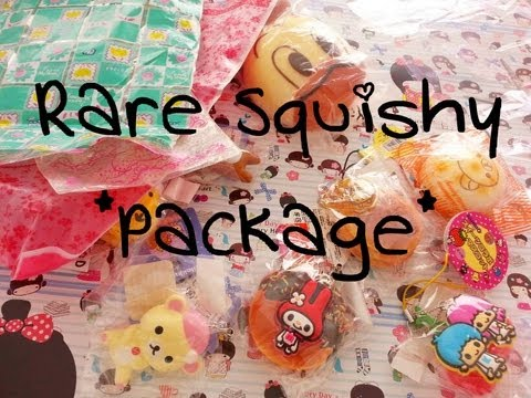 Rare Squishy Package :  Rare Squishy Package!  - YouTube