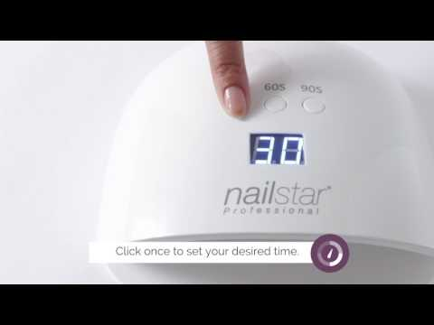 How to cure gel and shellac with the NailStar® UV/LED Nail  Lamp
