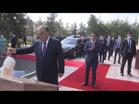 Эмомали Рахмон открыл в Душанбе гостиницу