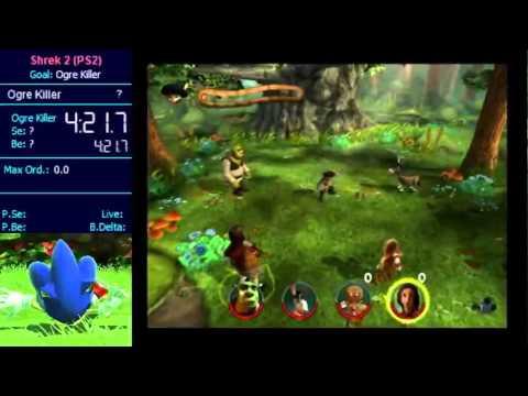 Shrek 2 Ps2 Ogre Killer 0 Compared With 100 Youtube