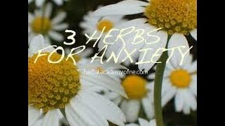 Herbs for sleep problems / anxiety - herbalism for insomnia
