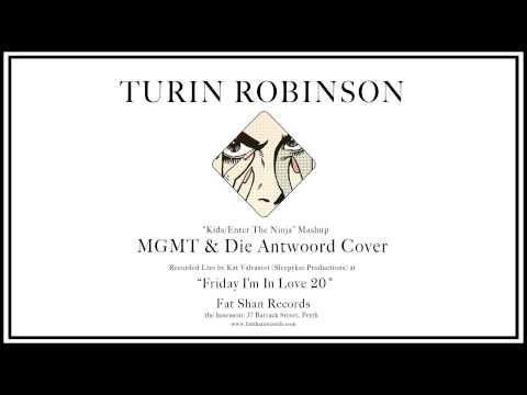 MGMT/Die Antwoord - Kids/Enter The Ninja Mashup (Turin Robinson Cover)