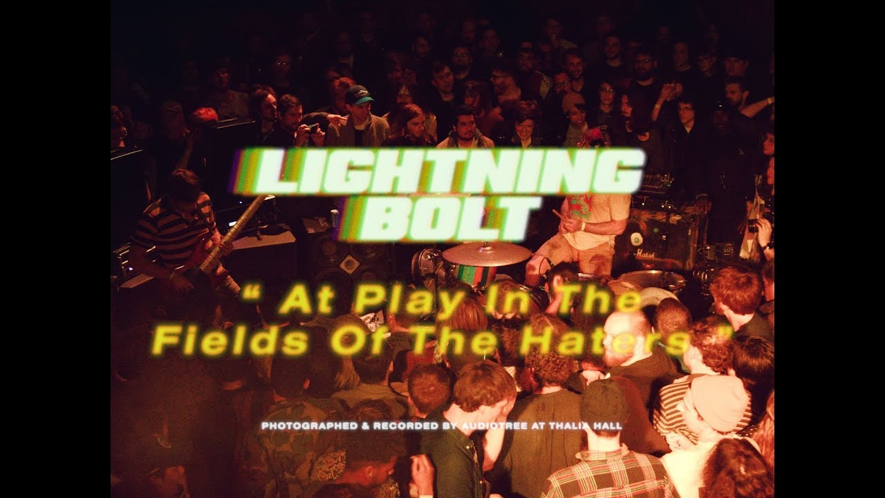lightning bolt at play in the fields of the haters live at