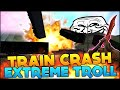 WATCH THIS VIDEO! :D EXTREME FUNNY TRAIN CRASH TROLL - CSGO Funny Moments (Modded CS:GO Map/Mission)
