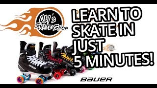 How to Roller Skate in Just 5 Minutes!