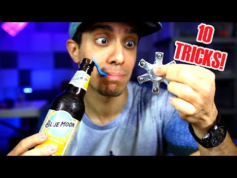 Thumbnail: TOP 10 BAR BETS WITH FIDGET SPINNERS ! MAGIC SPINNER TRICKS AND HACKS