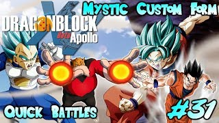 Minecraft Dragon Block C Apollo Server Episode 31 | FINALLY MYSTIC FORM!!! Sparring To My Limits!!!