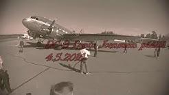 DC-3 lento Joensuun päällä