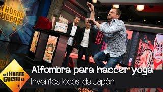 Alejandro Sanz disfruta de los inventos de Japón del Monaguillo - El Hormiguero 3.0