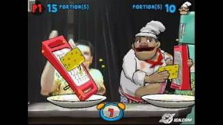 EyeToy: Play 2 PlayStation 2 Gameplay - Grating Cheese