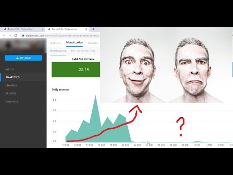 [DAY 90] Make Money With DailyMotion Montization UPDATE!