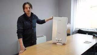 видео Установка газовой колонки в квартире своими руками