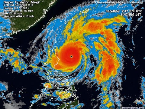 Super Typhoon Megi Hits Eastern United States