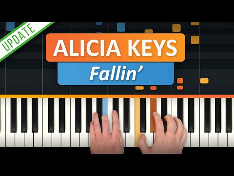 "How To Play ""Fallin' (Updated)"" by Alicia Keys 