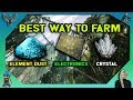 ARK EXTINCTION: BEST WAY TO FARM - Element Dust, Electronics, and Crystal